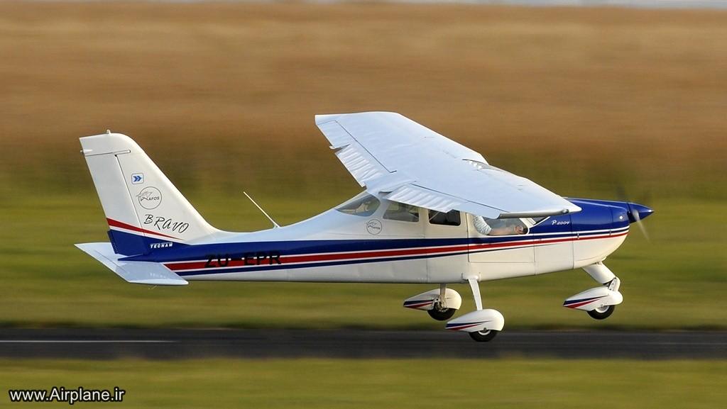قطعات براوو عکس، قیمت و مشخصات هواپیمای فوق سبک Tecnam P2004 Bravo ...